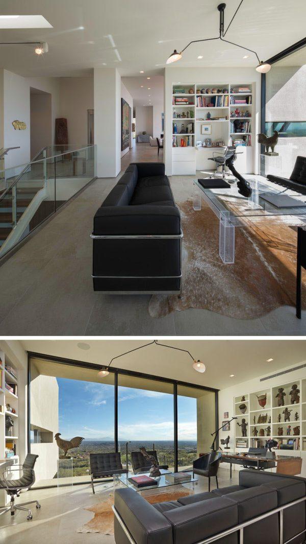 Modern Hillside House In Arizona Private