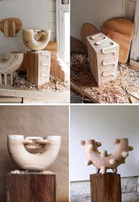 Ariele Alasko Makes These Creative Wood Sculptures And ...