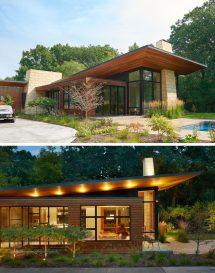 Theodore Wirth Ranch Home Strand Design Contemporist