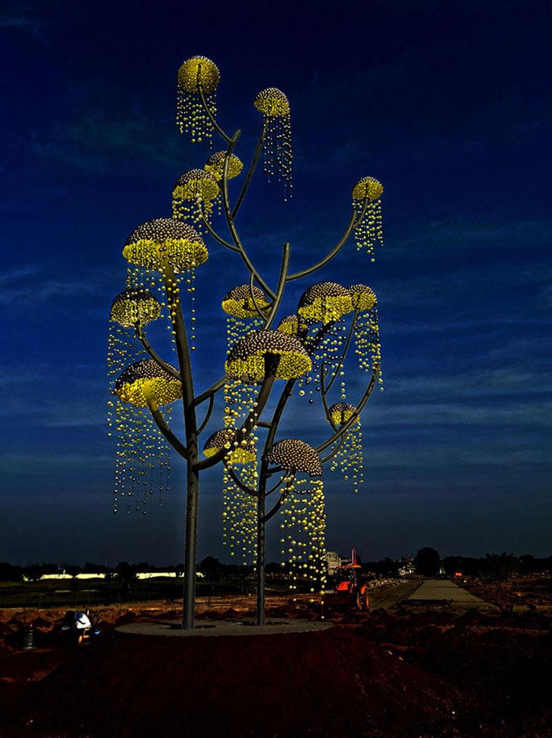 Vibhor Sogani Has Created Kalpavriksha  The Wish Fulfilling Tree  CONTEMPORIST