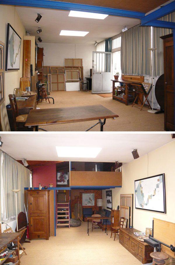 And - 1970s Art Studio Transformed