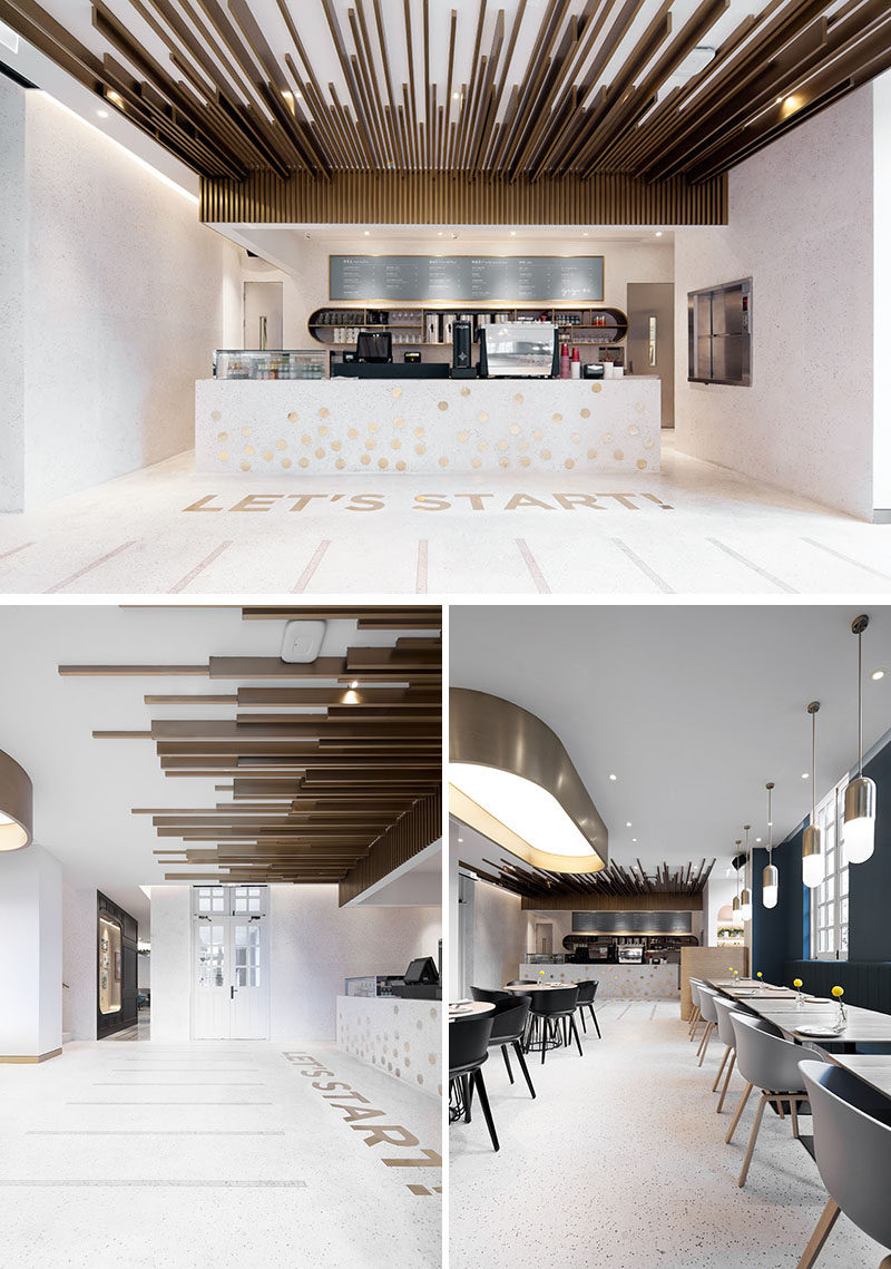 This New Restaurant And Cafe Is Located Inside An Old School Building In Shanghai  CONTEMPORIST