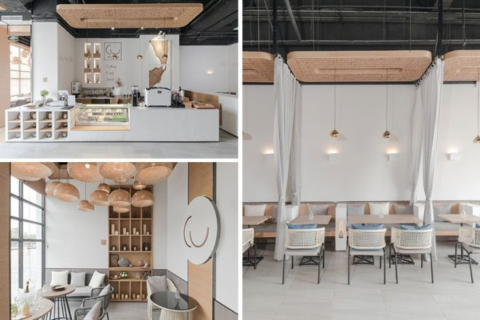 Giovanni Ferrara of Far Office has designed 101 Café, a new modern coffee shop in Changsha, China. #Cafe #CoffeeShop
