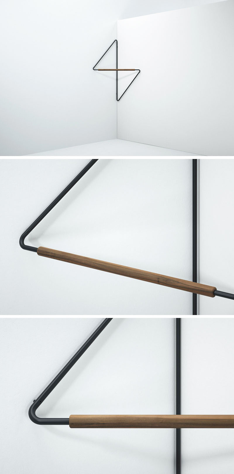 this clothing rack was designed to fit