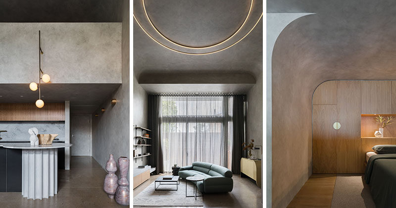 Design firm Killing Matt Woods, has completed the interiors of a modern loft apartment for two design professionals in Sydney, Australia. #LoftApartment #MinimalistApartment #InteriorDesign