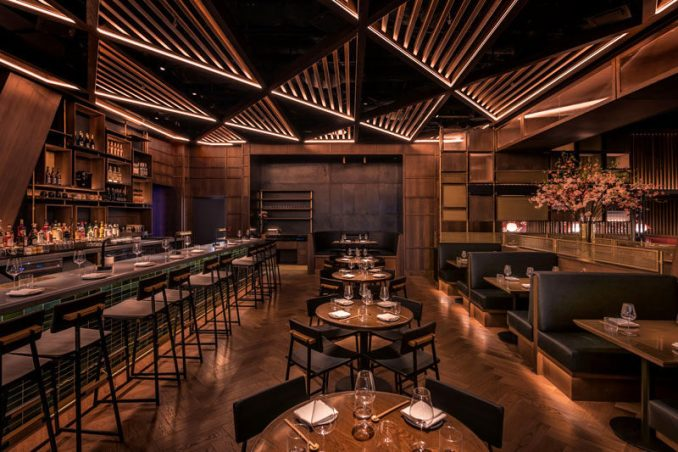 DesignAgency has collaborated with with Momofuku, to completed K?wi, their latest restaurant, located in Hudson Yards, New York. #RestaurantDesign #BarDesign