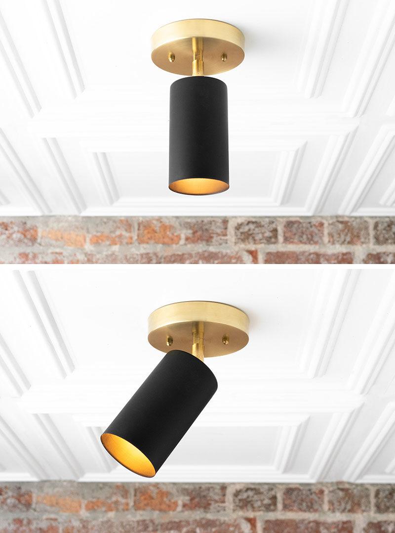matte black directional lighting by mod