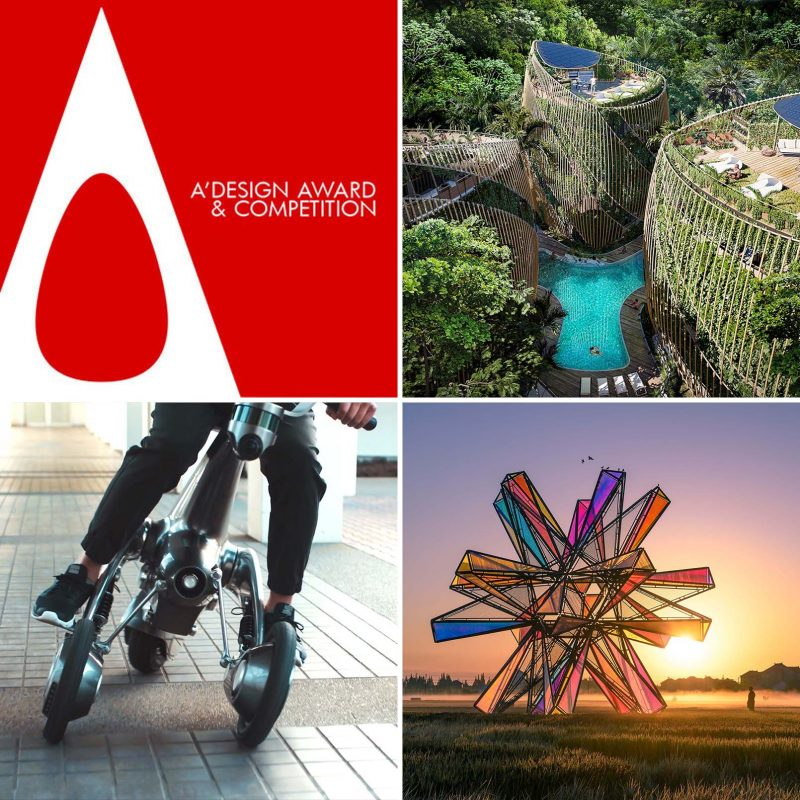 A' Design Award & Competition is the Worlds' leading design accolade reaching design enthusiasts in over 108 countries.