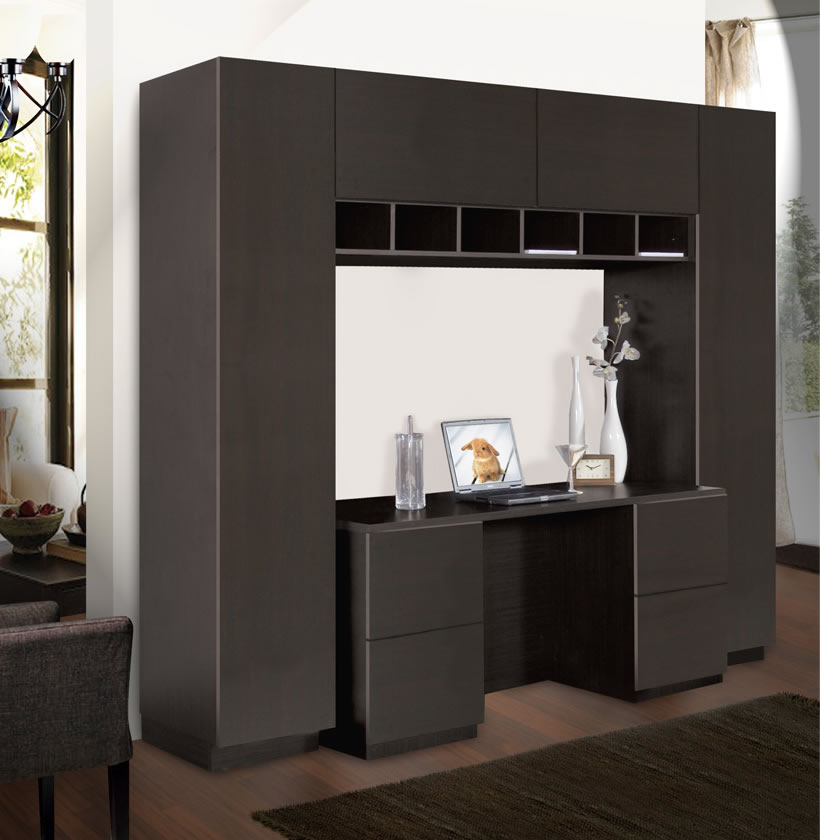 entertainment units living room wall color for with brown sofa davidson unit desk | contempo space