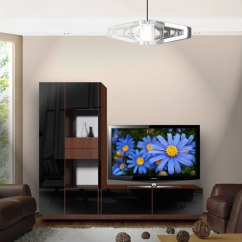 Wood Wall Units For Living Room Coastal Rooms Houzz Scarlett L Shaped Tv Stand - Unique Shape | Contempo Space