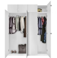 Alta Free Standing Wardrobe Package - Tall   Contempo Space