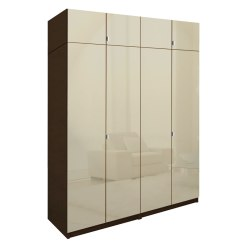 White Corner Units For Living Room Wall Colors Gray Alta Tall Wardrobe Closet Package - 6 Drawer ...