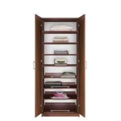 Living Room Storage Units Black Small Modern Decorating Ideas Bella Free Standing Closet - Wardrobe ...