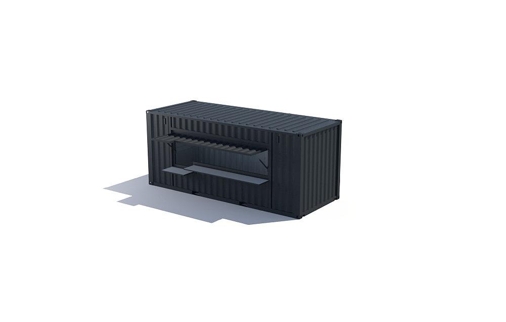 Votre projet container am nag container v nementiel for Projet container