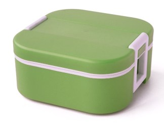 Thermal Lunchbox square 1 compartment inner with bag