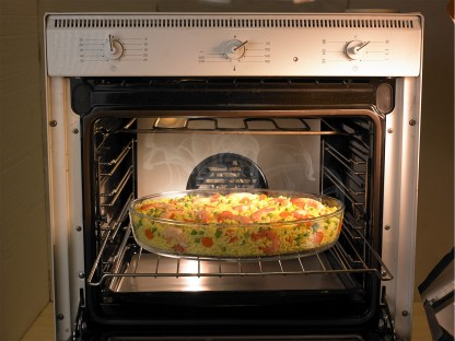 chef carrier ovale verde forno