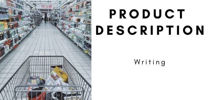 Product description writing services by content writing company