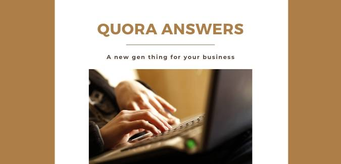 Quora answer writing services by content writing company
