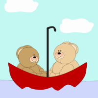 Jammy Drop and Belly Flop (A Children's Poem About Two Little Bears Who Went Fishing)