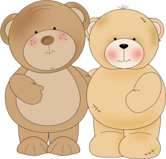 Two Cuddly Bears
