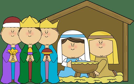 nativity free clipart