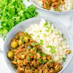 Easily reheatable the Cuban Picadillo is a great family recipe.