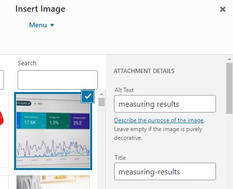 alt text image optimization