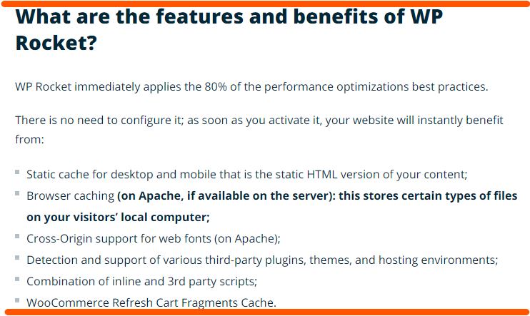 wp rocket seo optimization plugin