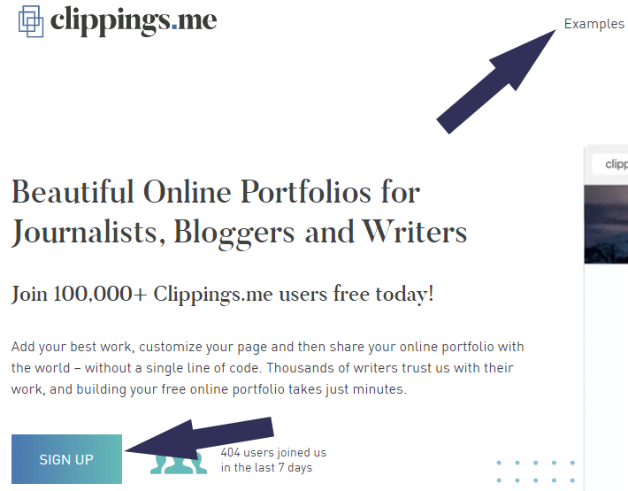 clippings portfolio tool