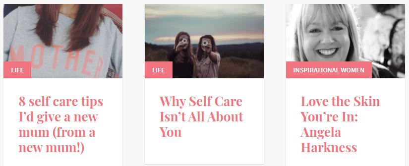 melnoakes blog topics