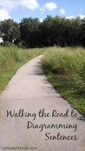 Walking the Road to Diagramming Sentences