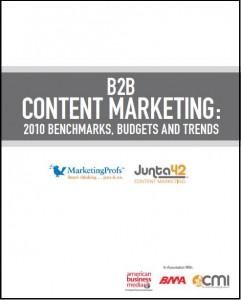 B2B Content Marketing Study