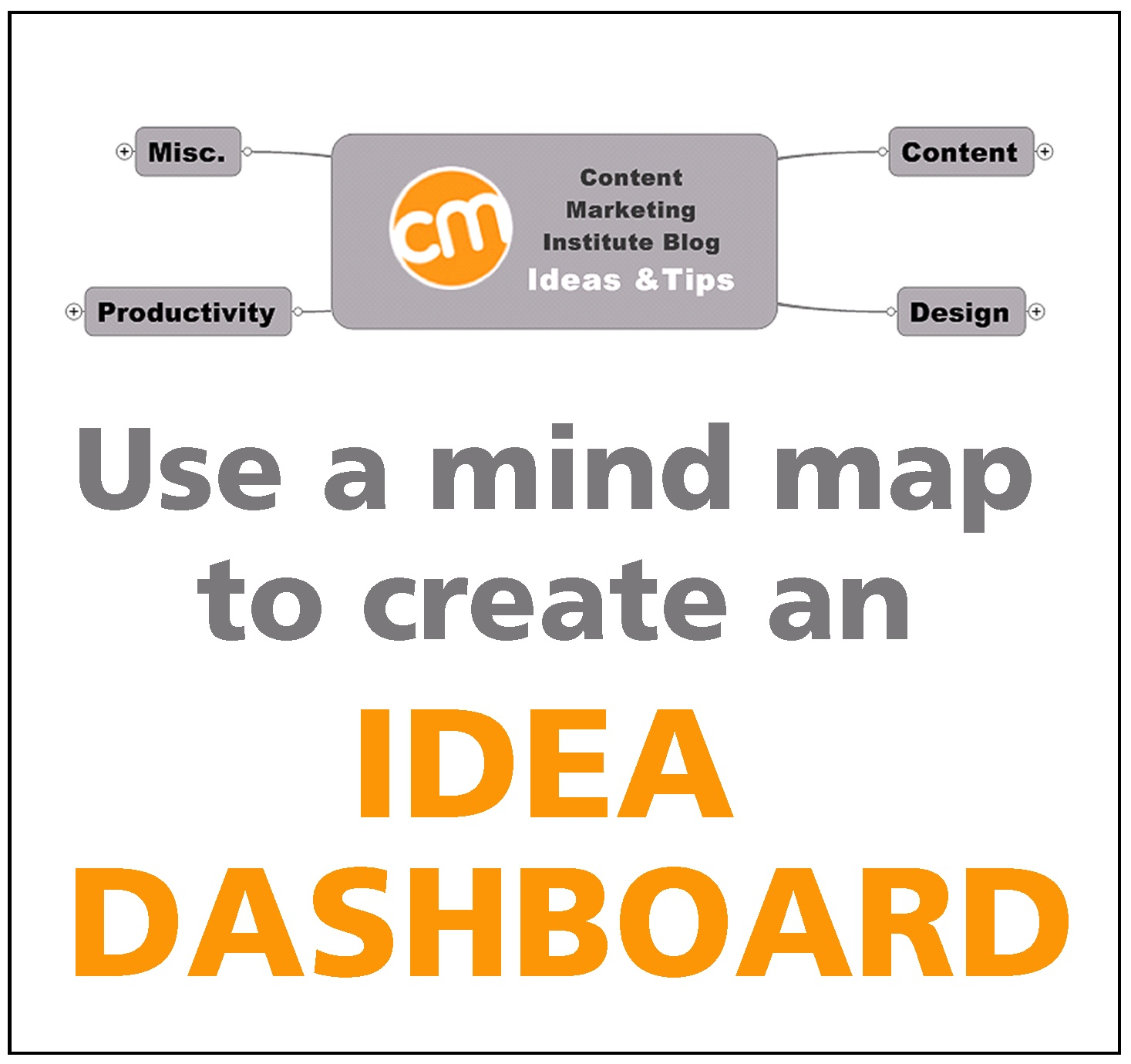 content ideas dashboard for