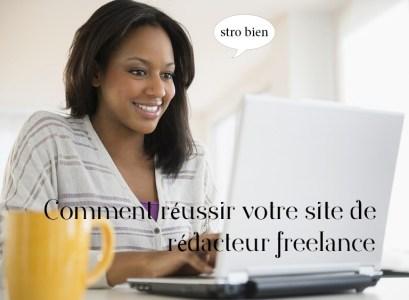 créer site rédacteur freelance
