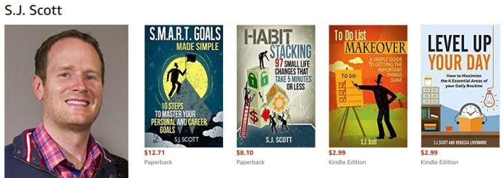 Livres Steve Scott