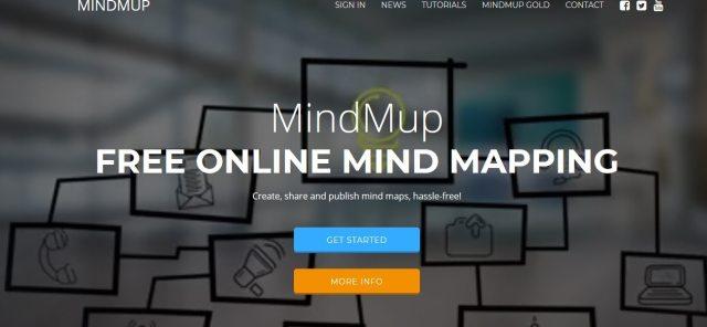 mindmup logiciel mind mapping