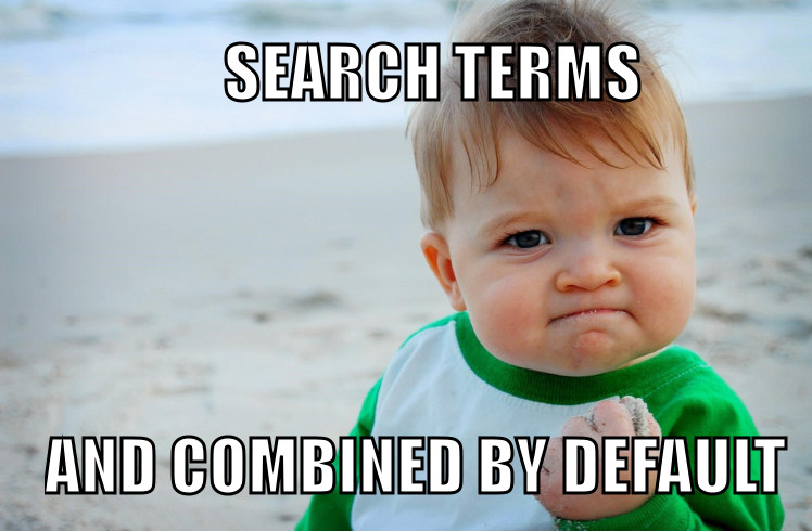 Success Kid Search Terms Meme