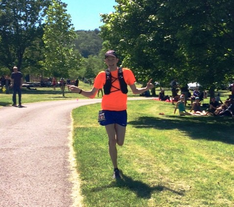 Long Distance Medaling Ultramarathoner 50 Miler