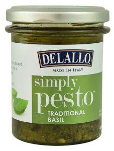 Delallo Simply Pesto Healthy Sauce