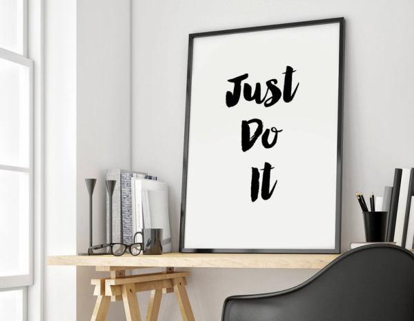 Just Do It College Decor
