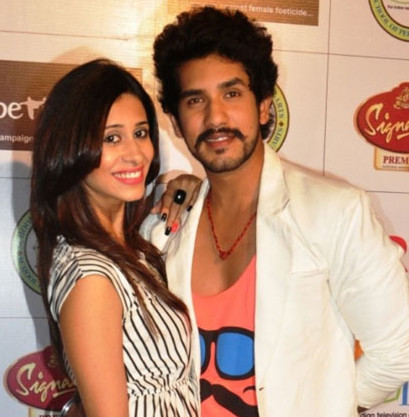 Kishwar Merchant and Suyyash Rai