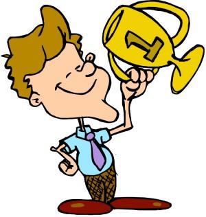 Bigg Boss 9 Winner - Man standing with trophy