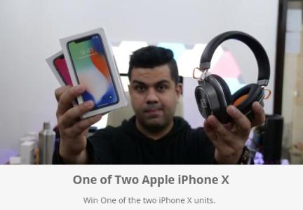 iGyaan One of Two Apple iPhone X Giveaway – Stand Chance to Win Apple iPhone X