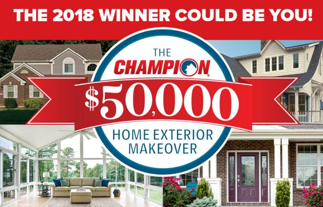 The champion home exterior makeover giveaway win 50 000 - Champion home exteriors glassdoor ...