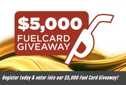 Lazydays RV Fuel Card Sweepstakes – Chance to Win $5,000 Gift Card