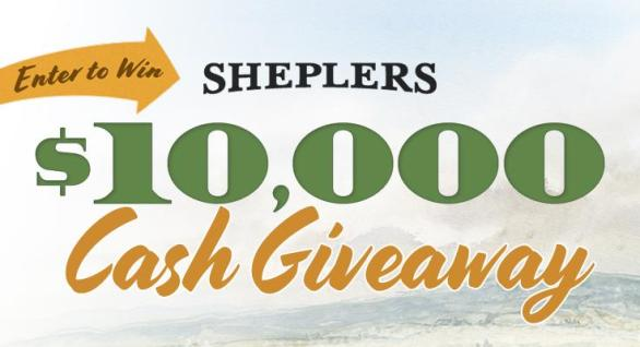 Sheplers $10000 Cash Giveaway - Chance to Win $10000 Cash