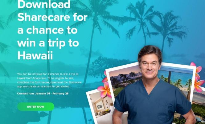 Dr Oz Sharecare Hawaii Giveaway - Win a Trip for Two to Hawaii