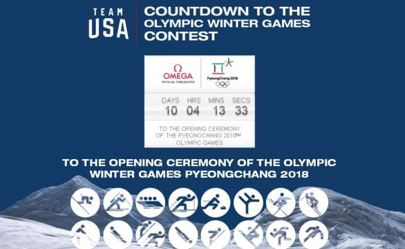 Countdown To The Olympic Winter Games Contest – Win Prize