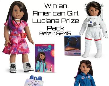 American Girl Luciana Doll Prize Pack Giveaway – Stand Chance to Win an American Girl Luciana Prize Pack