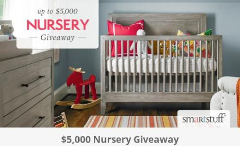 Smartstuff $5,000 Nursery Furniture Giveaway – Stand Chance to Win up to $5,000 MSRP of Nursery Furniture